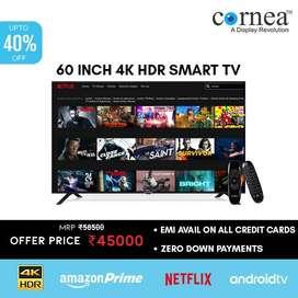 "60"" Cornea smart LED TV"
