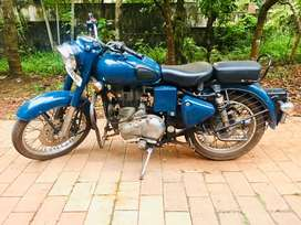 RE CLASSIC 350 FOR 115000 ONLY 40000 km DRIVEN