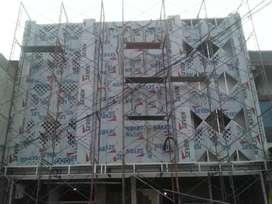 Spesialis Facelift Aluminium Composite panel, Kusen Aluminium Kaca
