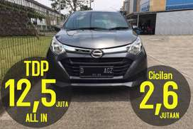 Daihatsu SIGRA X A/T (Matic) 2018   Bisa Kredit TDO=12,5juta