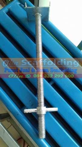 U Head Scaffolding merk SM diameter 30mm