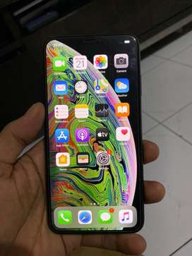 iPhone XS MAX 64GB SU BLACK