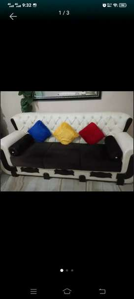 7 Setar Sofa Lether sheet