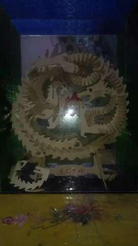 Jual kerajinan tangan bentuk naga dan burung phoenix