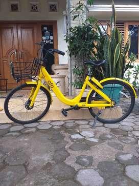 Sepeda Singapore OFO Jari