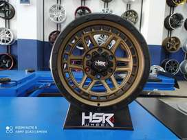 Pelek Mobil Murah Ring 17 Pajero Triton HSR DOPANG R17x85 Pcd 6x139,7
