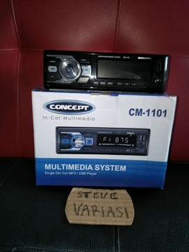 Head Unit Single Din Tape Mobil Radio USB Murah by STEVE VARIASI OLX
