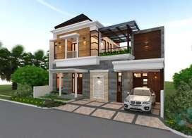 Murah! Rumah mewah & cantik disetiabudi Medan - Cluster Jannati Land