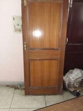 """Wooden door 78"""" × 32"""" (Material: Seasoned Champ)"""