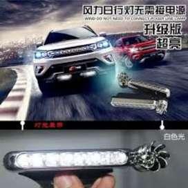 Lampu led variasi Tenaga angin praktis tanpa batrai tanpa aki