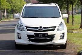 FS: Mazda 8, Putih, 2011 ( D 88 ), Sunroof, Power Back Door, Istimewa