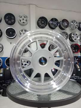 kredit dan cash velg ring15 pcd 4x100/114 accord VTI cielo