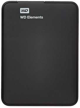 Western Digital Elements 1TB USB 3.0 Portable External Hard Drive