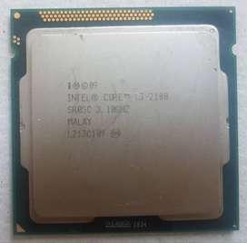Processor Intel Core i3-2100 Sandy Bridge 3.10GHz
