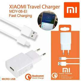 Charger Xiaomi 2.5A 9V QC 2.0 3.0 Fast Charging ORIGINAL Micro Type C