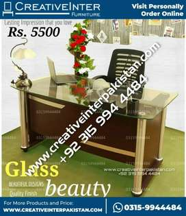 Office Table woodenGlasss furniture sofa Chair study bed set dining