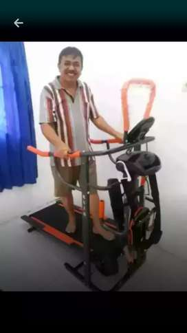 promosi treadmill manual massager +6 fungsi  baru