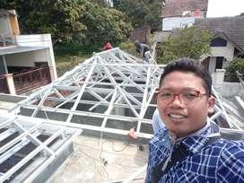 Baja ringan kerangka atap yg sangat murah dan kuat