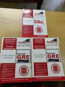 GRE Books for Sale