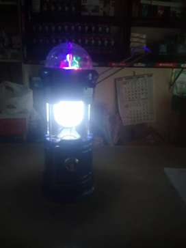 LED with a tube, torch and an rounding light.