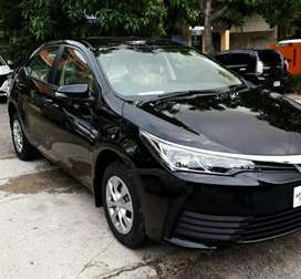 NA RENT A CAR OFFERS COROLLA GLI FOR MONTHLY RENTAL BASIS