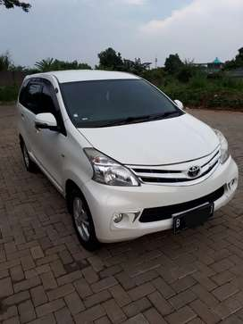 Toyota Avanza 1.5G MT 2013 Warna Putih