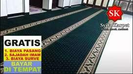 Karpet masjid gratis biaya vakum