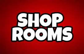 WELL RUNNING SHOP ROOMS (GETTING MONTHLY RENT) IN THE HEART OF CITY.