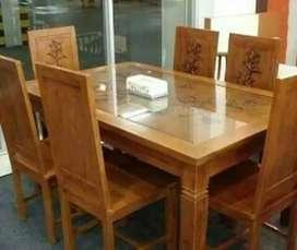 kursi makan sanggar jati