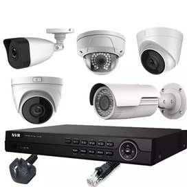 CCTV camera full setup &installation at heavy discount