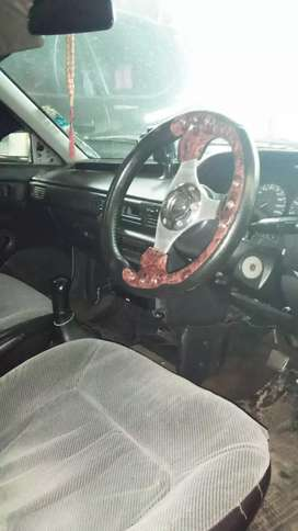 efek Corona mobil mulus luar dalam Mazda interplay 323