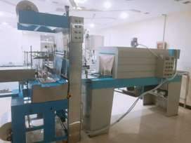 Automatic Mineral Water Plant. Auto Filling. Filter plant