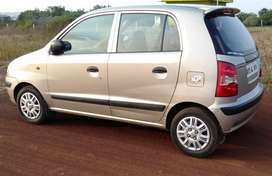 Santro xing gls top end single owner full insurance