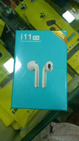 I sell new mobile accessories i11 5.0 TWS Bluetooth Earphones
