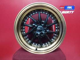 Velg Mobil Splash TIAKUR JD218 HSR R15X89 H8X100-114,3 ET3025 BKBZL