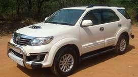 Toyota Fortuner 4x2 AT, 2014, Diesel