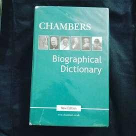 Biographical dictionary