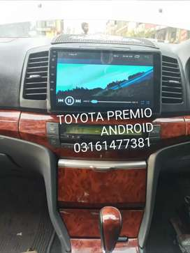 TOYOTA PREMIO 2005 ANDROID PANEL