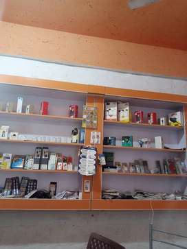i want to sale my shop its urgent basis with mobile assecrios