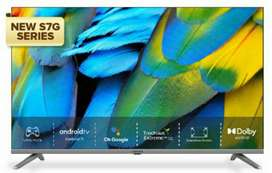 Coocaa 43inch Series 43S7G Android SmarttV new
