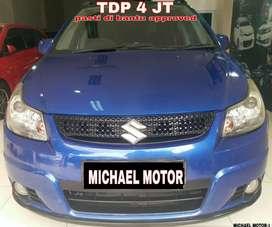 Dijual Suzuki Sx4  DP4 Jtn Tipe X over  AT 2011 PJK Panjang Bergaransi