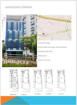 Dijual Mini Building Lokas Strategis Mampang Prapatan, Jakarta Selatan
