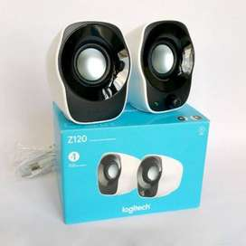 Logitech COMPACT STEREO SPEAKERS. Z120 USB Powered Speakers woofer