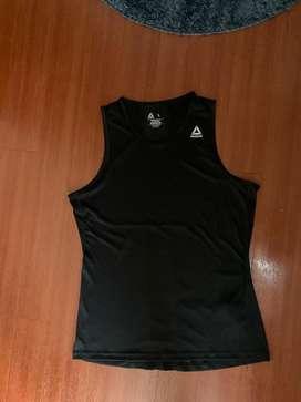 Singlet gym/running/bodycombat pria reebok 100% new original