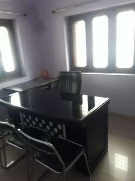 Near rbi bank rajpur road semi furnished office