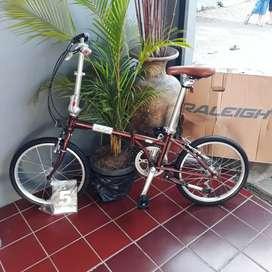 Raleigh folding Bike (sepeda lipat) Brand UK mirip Dahon BW