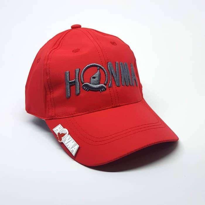 Honma Golf Hat Topi Golf Premium With Pin Magnetic 0
