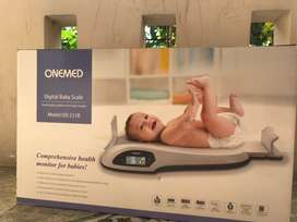 Timbangan bayi digital onemed / digital baby scale onemed