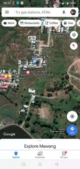 Tanah Mawang Gowa Investasi SHM 299m^2