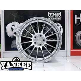 Cicil Velg Mobil DP 10% HSR Wheel RACE Ring 18 Hole 5x114,3 HB